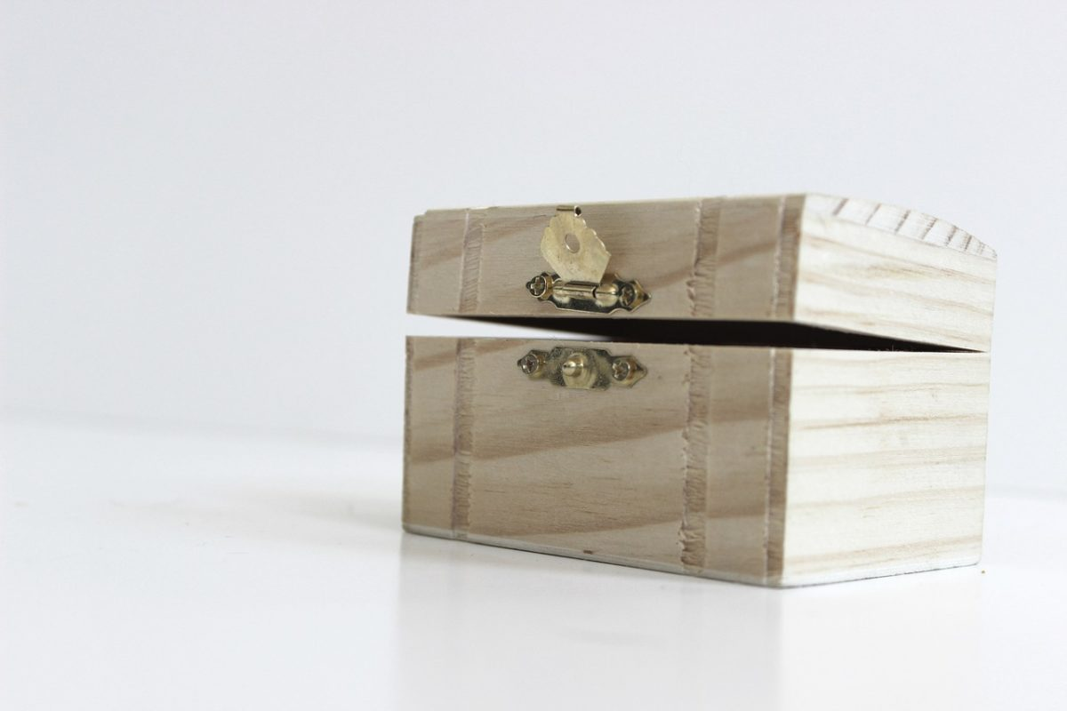 a safe box