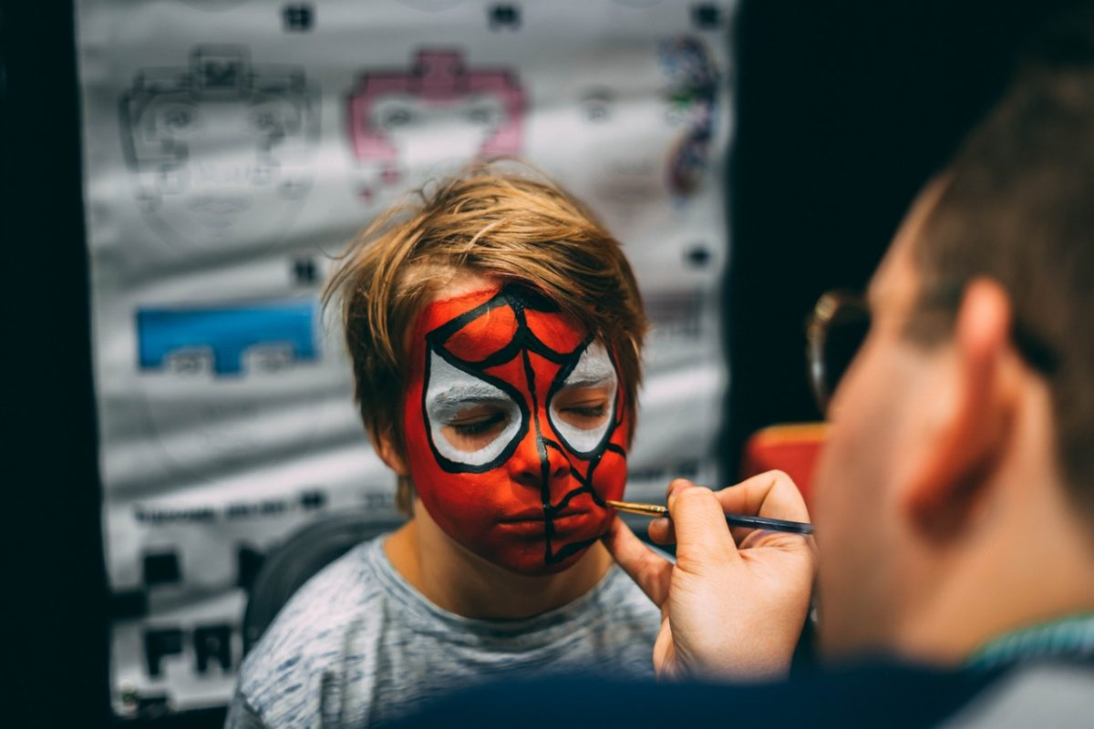 spiderman face painting/How to Start a Face Painting Business